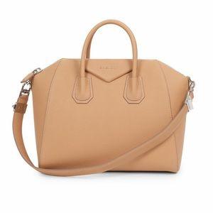 Givenchy Antigona Leather Satchel - Medium